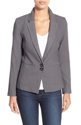 Women's Dex Jacquard One Button Blazer
