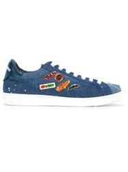 Dsquared2 Pin Denim Sneakers Blue