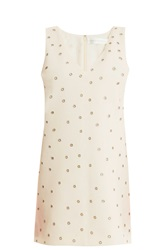 Victoria Beckham Eyelet Shift Dress