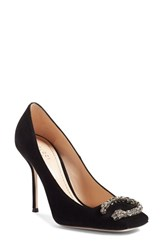 Gucci Women's Dionysus Embellished Square Toe Pump