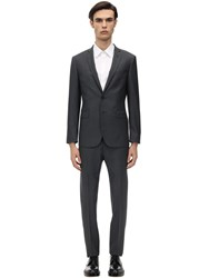 Tonello Single Breast 225Gr Wool And Mohair Suit Grey