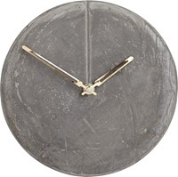 Cb2 Bonded Cement Wall Clock