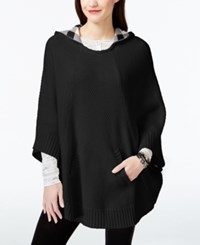 G.H. Bass And Co. Hooded Sweater Poncho