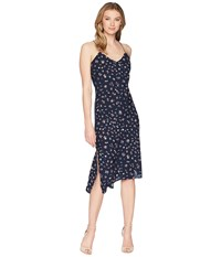 Ag Adriano Goldschmied Scarlett Dress Navy Multi Blue