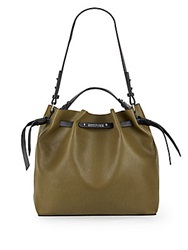 Kenneth Cole Reaction Colorblock Faux Leather Bucket Bag
