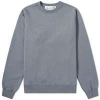 Martine Rose Collection Date Crew Sweat Grey