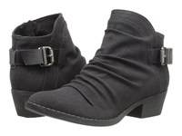 Blowfish Seastie Black Rancher Canvas Dyecut Pu Women's Boots