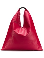 Maison Martin Margiela Mm6 Large Japanese Tote Red