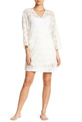 Ugg Lizabeth Lace Wrap Nightgown Awht