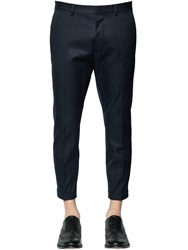 Dsquared 16.5Cm Hockney Cotton Twill Pants