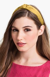 L. Erickson 'Narrow Knot' Turban Headband Yellow Marigold