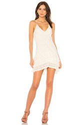 Saylor Clyde Dress White