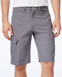 Inc International Concepts Men's Jorge Cargo Shorts Only At Macy's Grey Skies