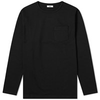 Head Porter Plus Long Sleeve Pocket Tee Black