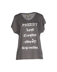 Freddy Topwear T Shirts Women Lead