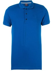 Paul And Shark Classic Polo Shirt Blue