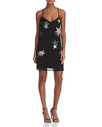 Guess Sierna Beaded Star Dress Jet Black