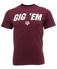 Vf Licensed Sports Group Men's Texas A And M Aggies Slogan T Shirt Maroon