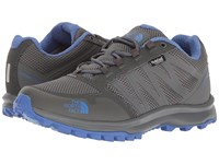 The North Face Litewave Fastpack Wp Zinc Grey Amparo Blue Women's Shoes Gray