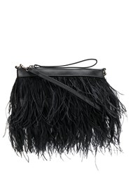 P.A.R.O.S.H. Plumba Feather Clutch 60