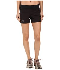 Arc'teryx Lyra Shorts Black Women's Shorts