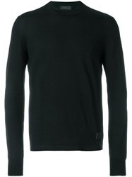 Prada Long Sleeve Pullover Black