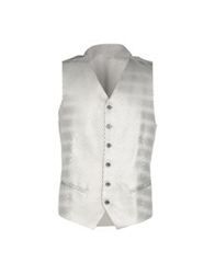 Gai Mattiolo Vests Light Grey
