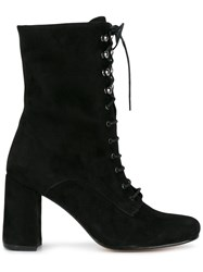 Maryam Nassir Zadeh Lace Up Emannuel Boots Black