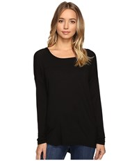 Volcom Lived In Long Sleeve Black Women's Clothing