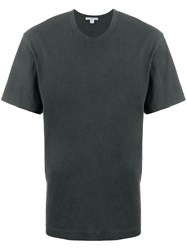 James Perse Short Sleeve Fitted T Shirt 60