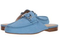 Donald J Pliner Sylvi Denim Clog Shoes Blue