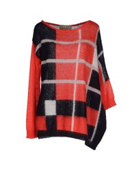 Space Style Concept Sweaters Red