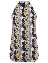 Miss Selfridge Sleeveless Daisy Top Multi