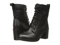 Kenneth Cole Reaction Jenis Jay Black Leather Women's Boots