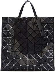 Issey Miyake Black Lucent Pro Geometric Tote