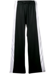 Kappa Panelled Track Style Trousers Black