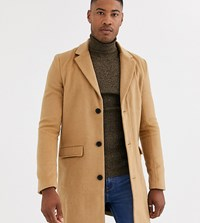 Another Influence Wool Over Coat In Tan