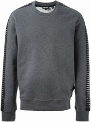 Just Cavalli Studded Sweatshirt Grey