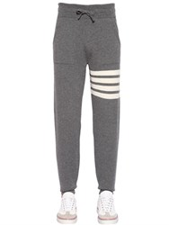 Thom Browne Intarsia Cashmere Knit Jogging Pants