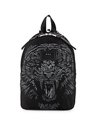John Varvatos Tiger Backpack Black