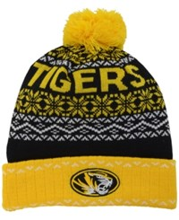 Top Of The World Missouri Tigers Sprinkle Knit Hat Black Yellow White