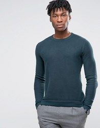 Selected Homme Crew Neck Knit Green