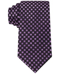 Sean John Highlight Neat Tie Purple