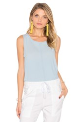 Bella Dahl Button Back Tank Maui Wash