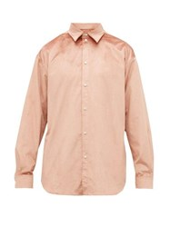 Y Project Velvet Shirt Dusty Pink