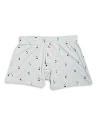 Tommy Bahama Hula Girl Patterned Boxers Grey