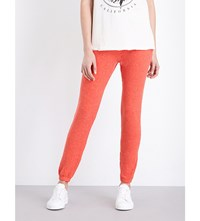 Wildfox Couture Knox Fleece Jogging Bottoms Electric Red