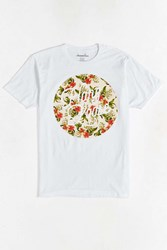 Urban Outfitters Tropical Hang Loose Tee White
