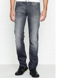 7 For All Mankind Slimmy Luxe Performance Huntley Slim Fit Jeans Grey