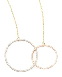 Lana Magnetic Two Circle Necklace